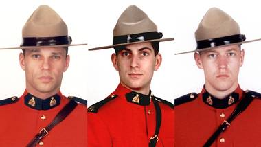 Moncton's fallen Mounties: Three lives of public service lost 13