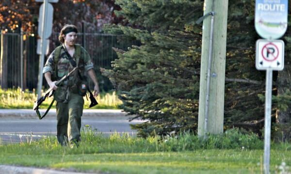 Moncton shooting suspect still at large 14