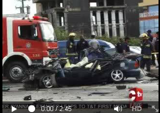 Horrific Trinidad highway accident claims family of three 1
