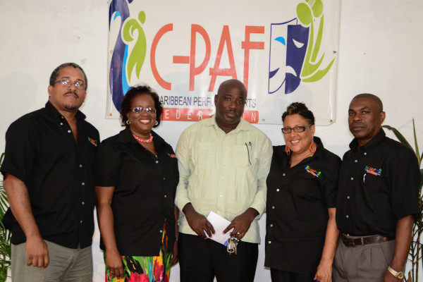 Caribbean Performing Arts Federation (C-PAF) launched in St. Lucia on Wednesday August 27th, 2014. 8