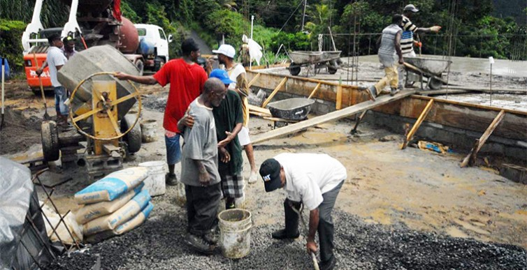 Dominica'S Parliamentary Representative for Roseau South happy with progress at Giraudel 3