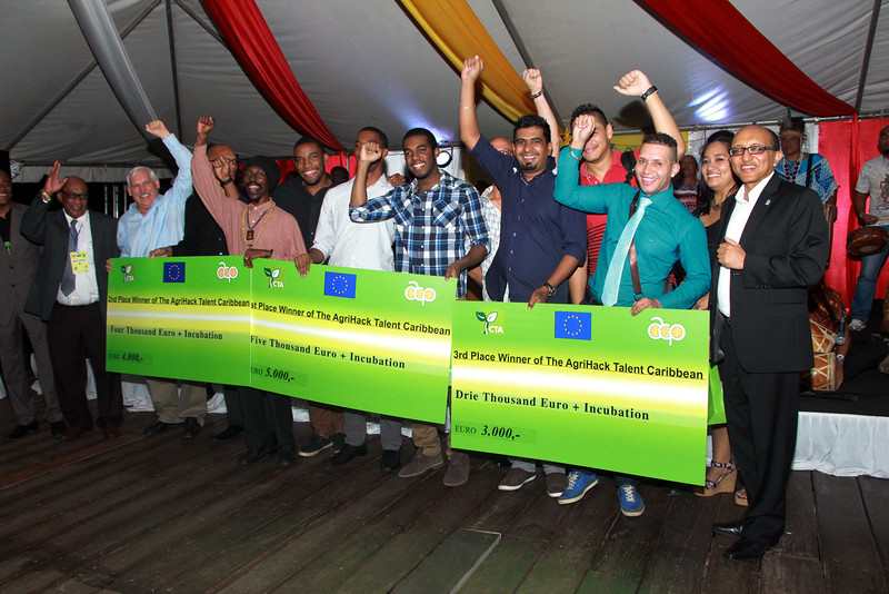 Young Jamaican team wins AgriHack Talent Caribbean contest at 13th Caribbean Week of Agriculture 8