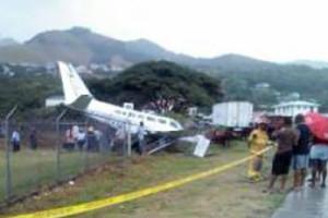 Dominica Canefield Airport Plane crash