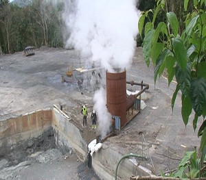 Dominica Geothermal Plant