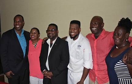 F ANGUILLA TOURIST BOARD HOSTS SOUTH FLORIDA'S TOP TRAVEL AND LUXURY MEDIA 7