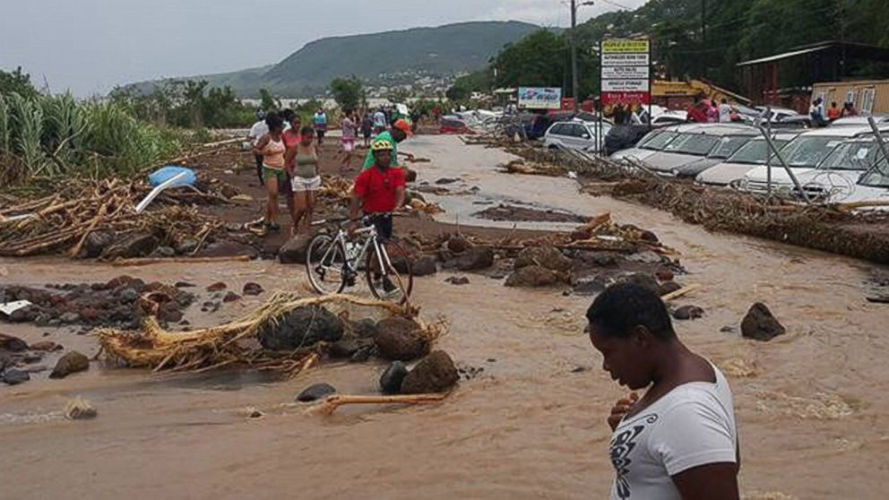 Dominica after storm erika - 11 bodies recovered