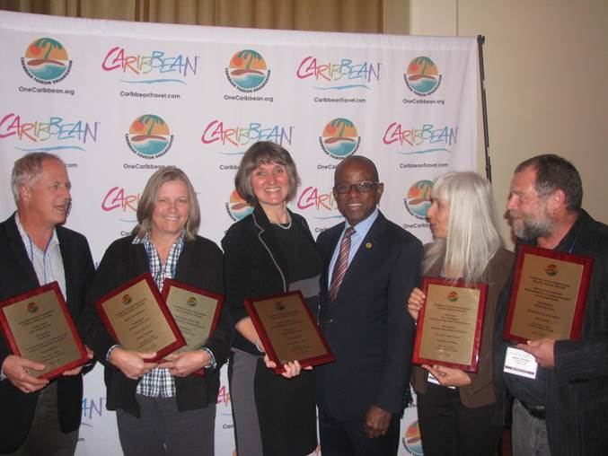 Outstanding Canadian travel journalists recognized at CTO Caribbean Tourism Awards event 2