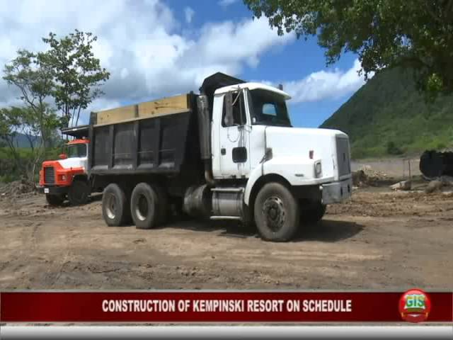GIS Dominica Special Report: Construction of Cabrits Resort Kempinksi on Schedule 7