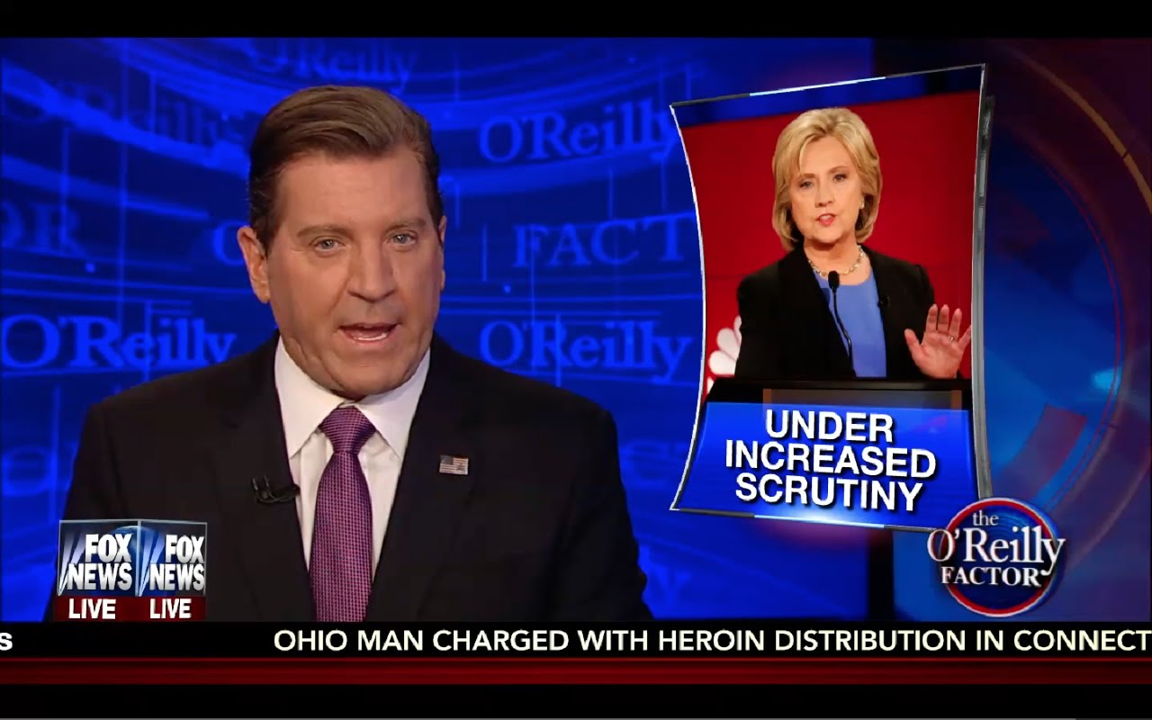 O'Reilly Factor 8/26/16 Full: Hillary Racist! Trump & Hillary Attack Each Other Viciously! 3