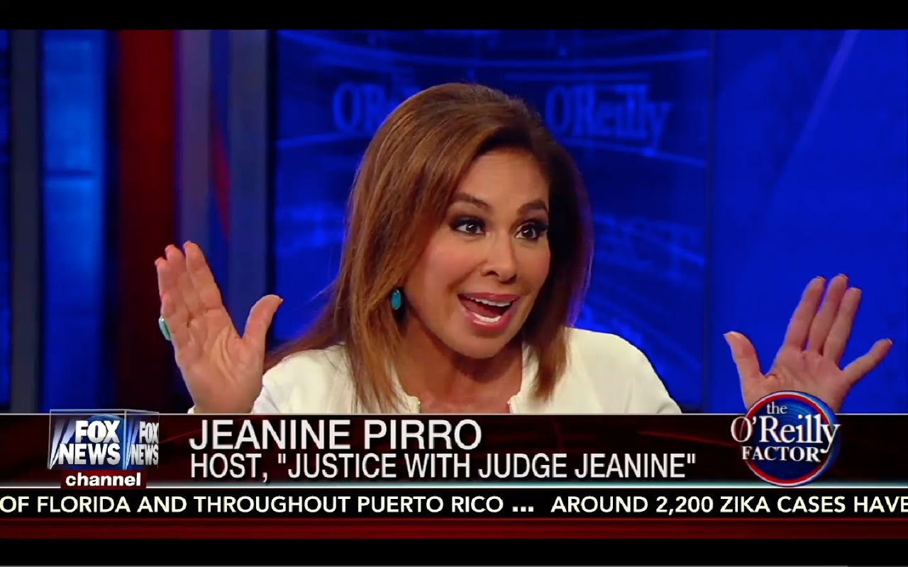 Judge Jeanine: What Donald Trump Needs to do to Win! 8/26/16 1