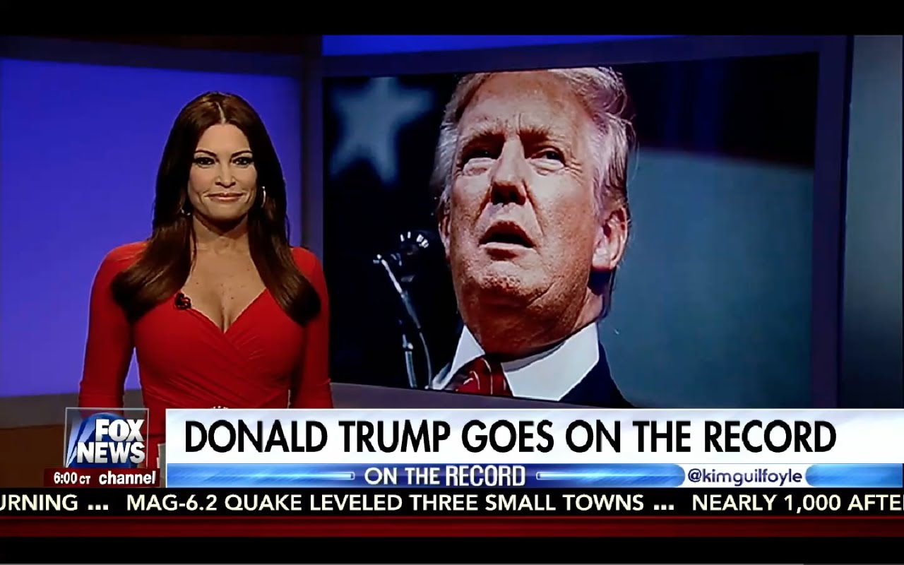 Donald Trump Interview with Kimberly Guilfoyle 8/26/16 1