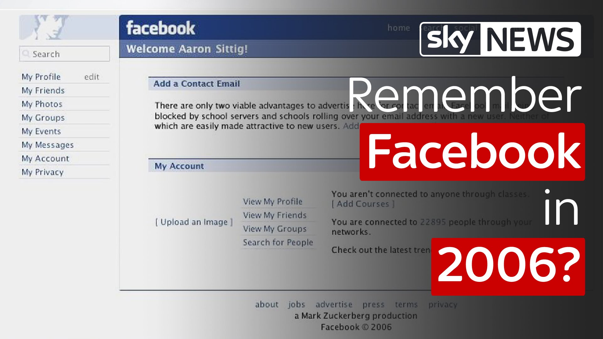 Remember Facebook in 2006? Interview with Facebook's Chris Cox 2