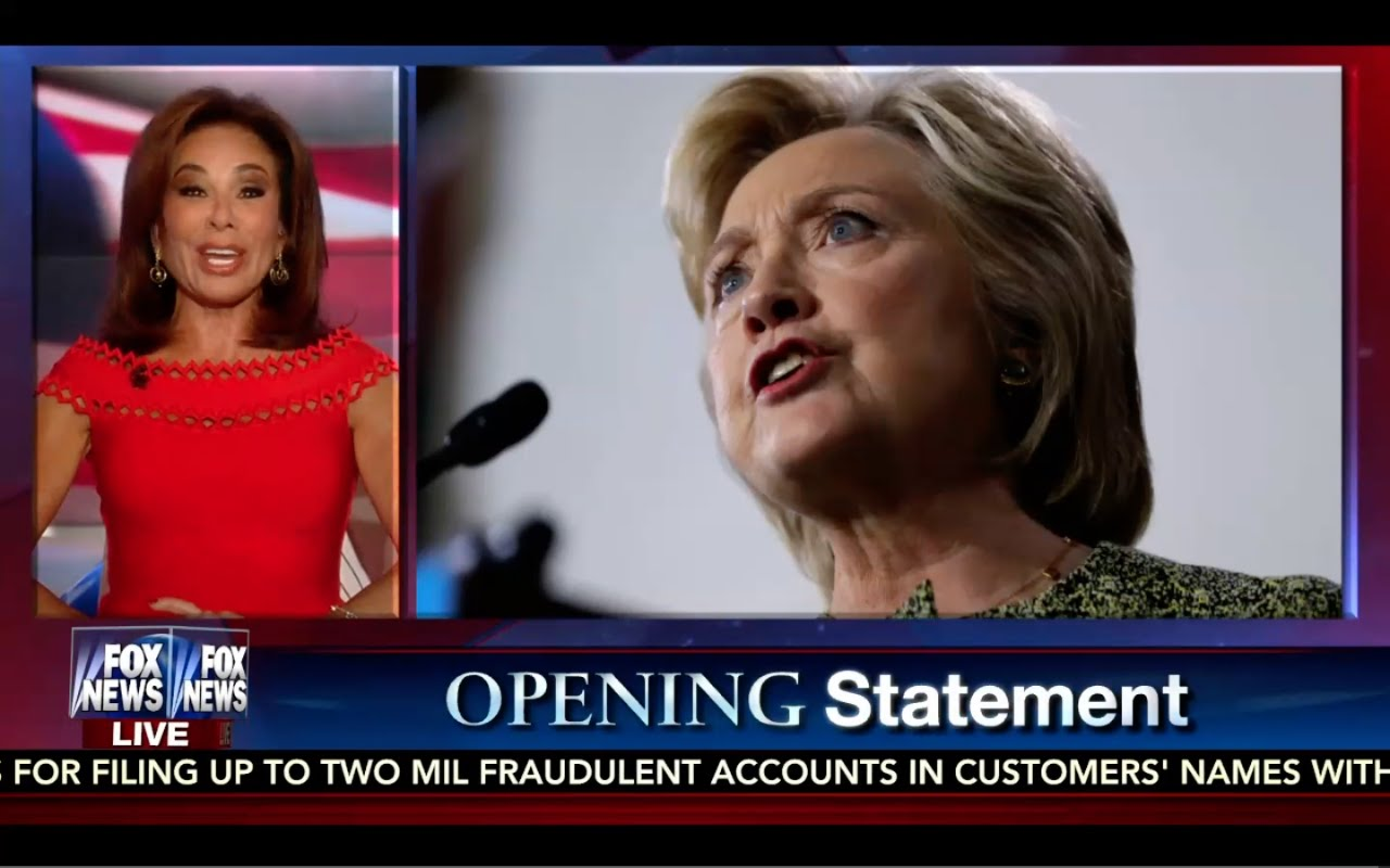 Judge Jeanine 9/24/16 Full: Countdown to Trump/Clinton Debate! Jeanine Advice! Don King Interview 9