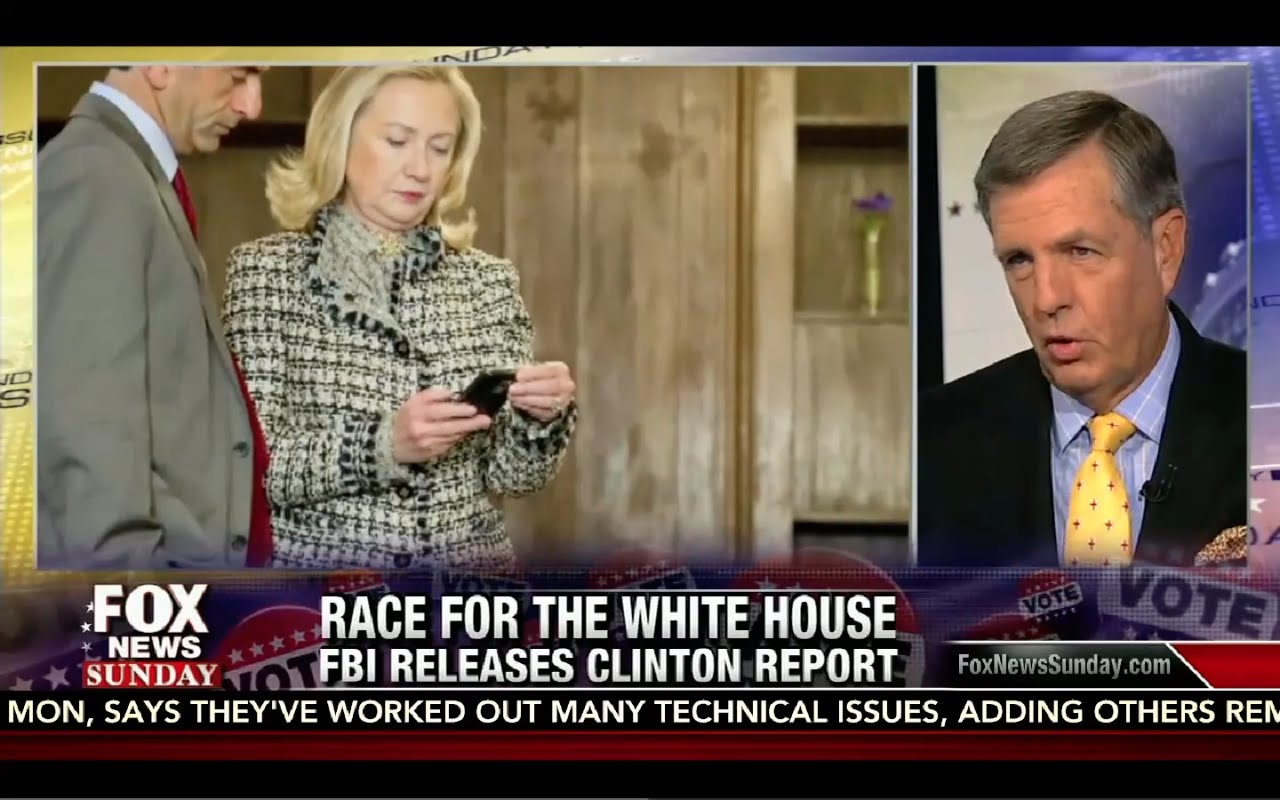 Fox News Sunday 9/4/16 Full: Hillary FBI Interview Lies, Trump Visits Black Church, Jill Stein 3