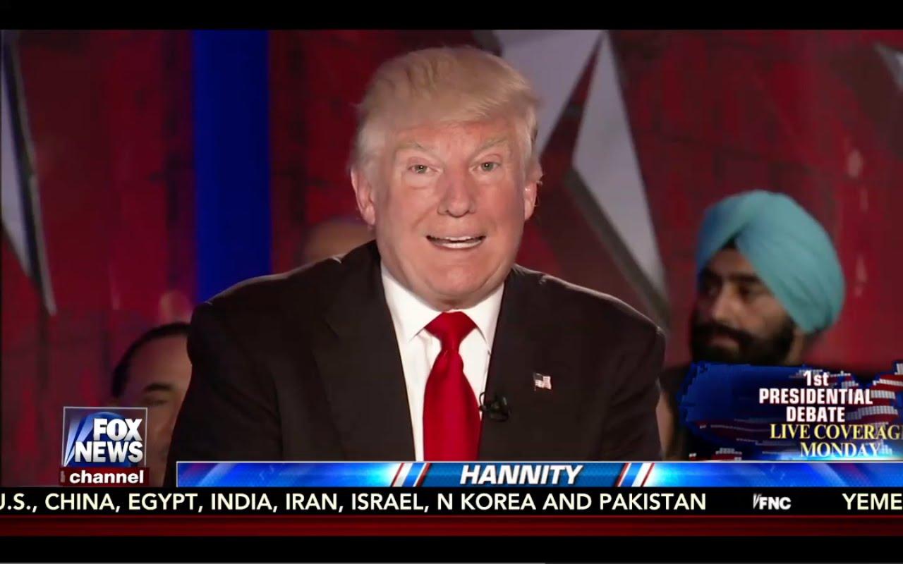 Hannity Town Hall w/ Donald Trump 9/23/16: Fox News 4