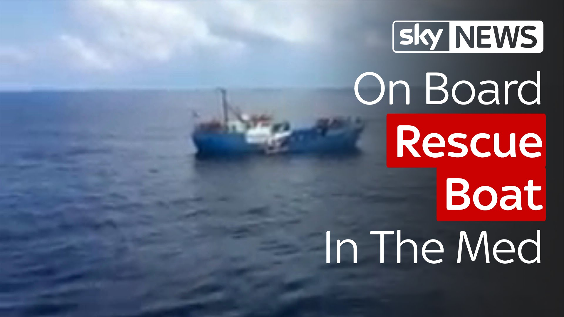 On Board Rescue Boat In The Mediterranean 10