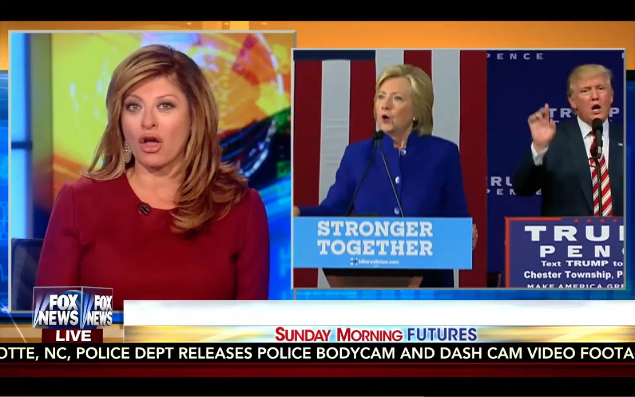 Sunday Morning Futures 9/25/16 Full: Trump & Hillary Prepare for Battle! Eric Trump Interview 13