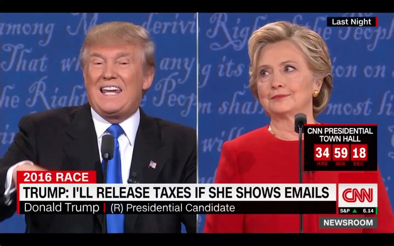 Donald Trump and Hillary Clinton Clash at First Debate! 9/27/16 2