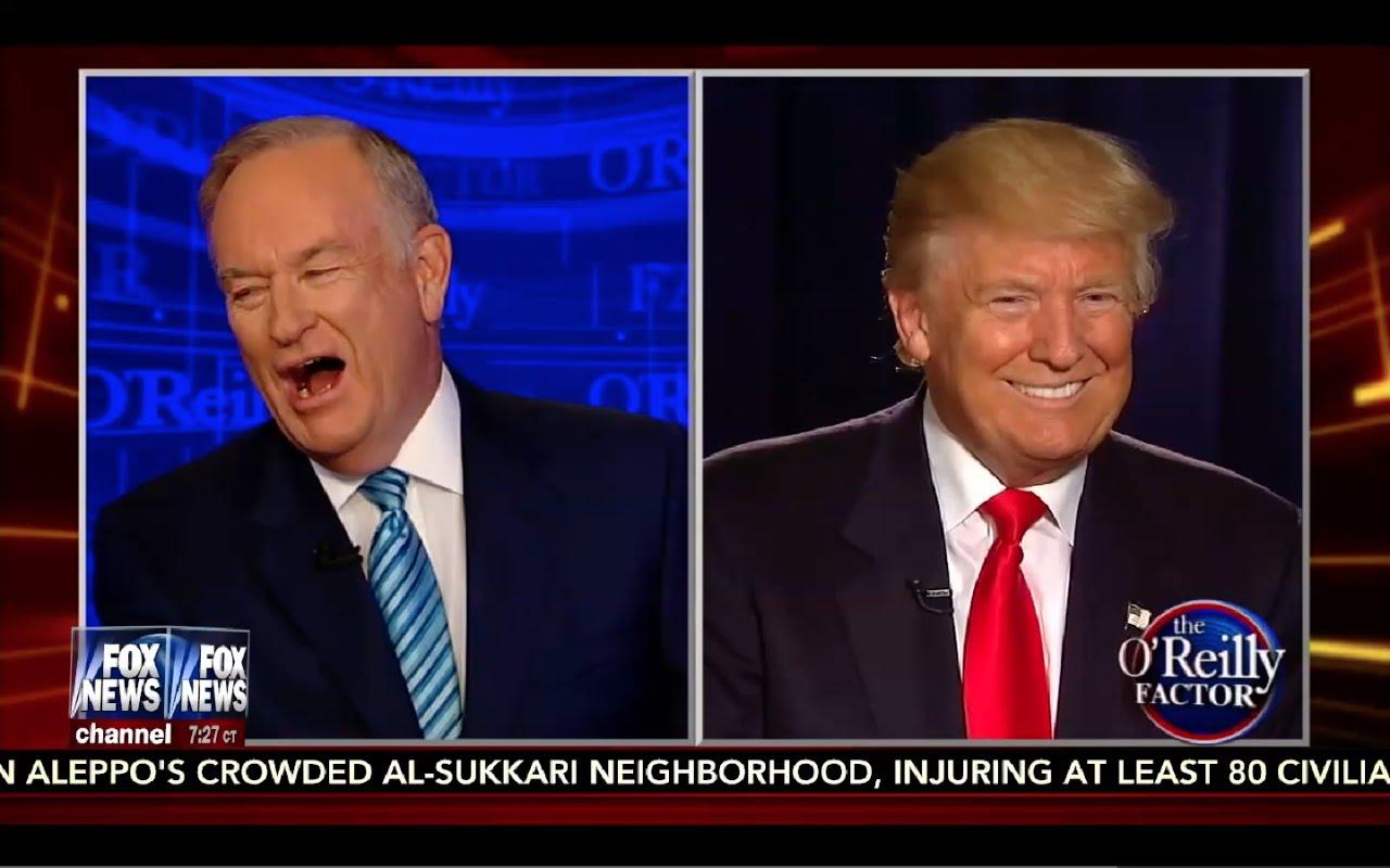Donald Trump Interview: O'Reilly Factor 9/6/16 3