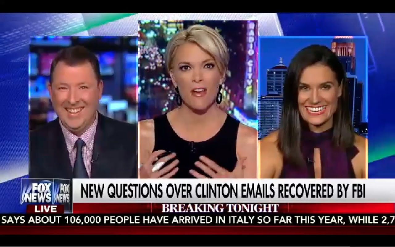 Kelly File 8/30/16 FULL: 30 Benghazi Emails Recovered by FBI, Hillary Screwed! 2