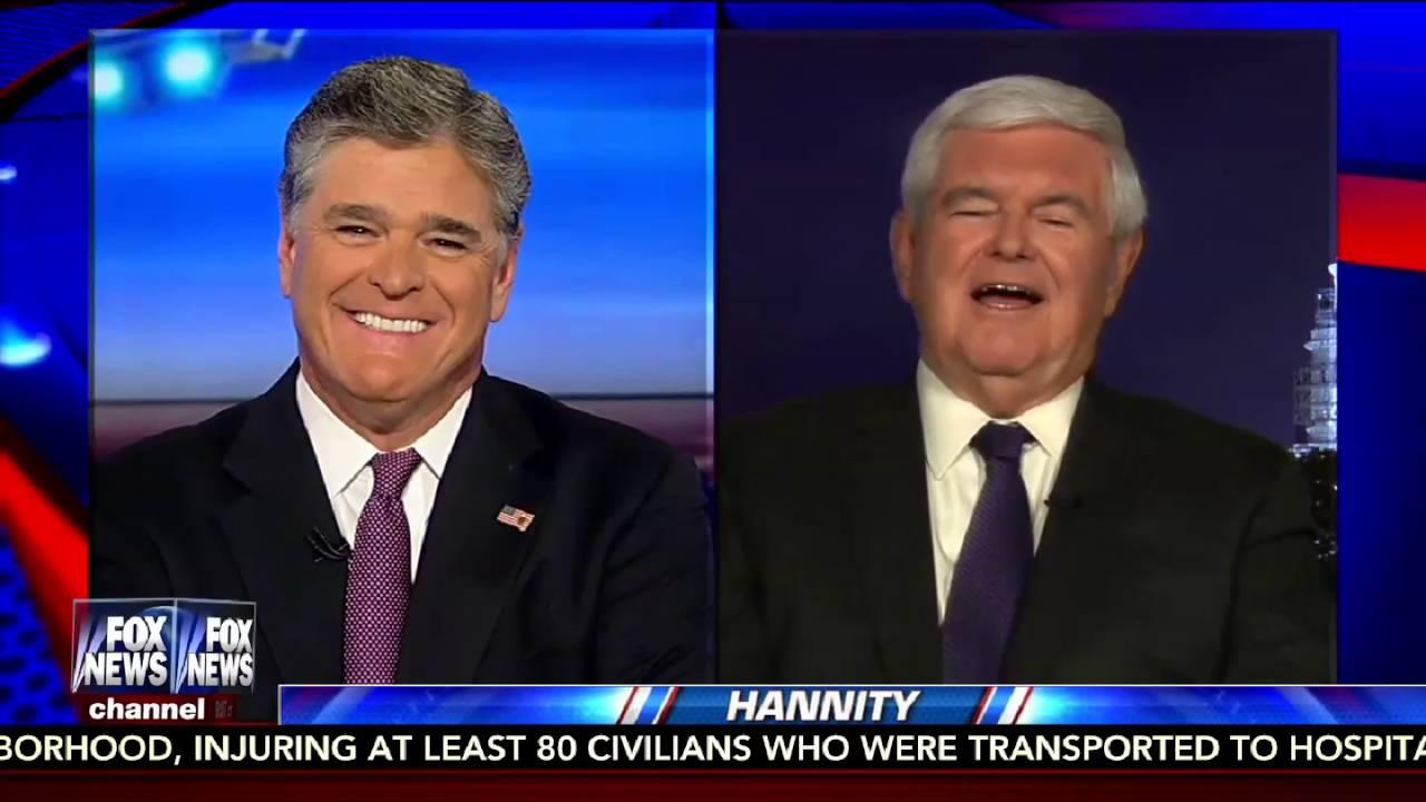 Hannity 9/6/16 FULL: Julian Assange Interview, Hillary's Lies, FBI, Newt Gingrich 9
