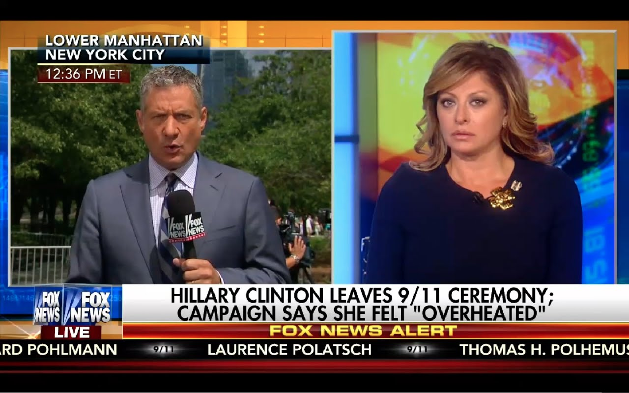 Sunday Morning Futures 9/11/16 Full: Hillary Faints! Clinton Email Investigation Deepens! 2