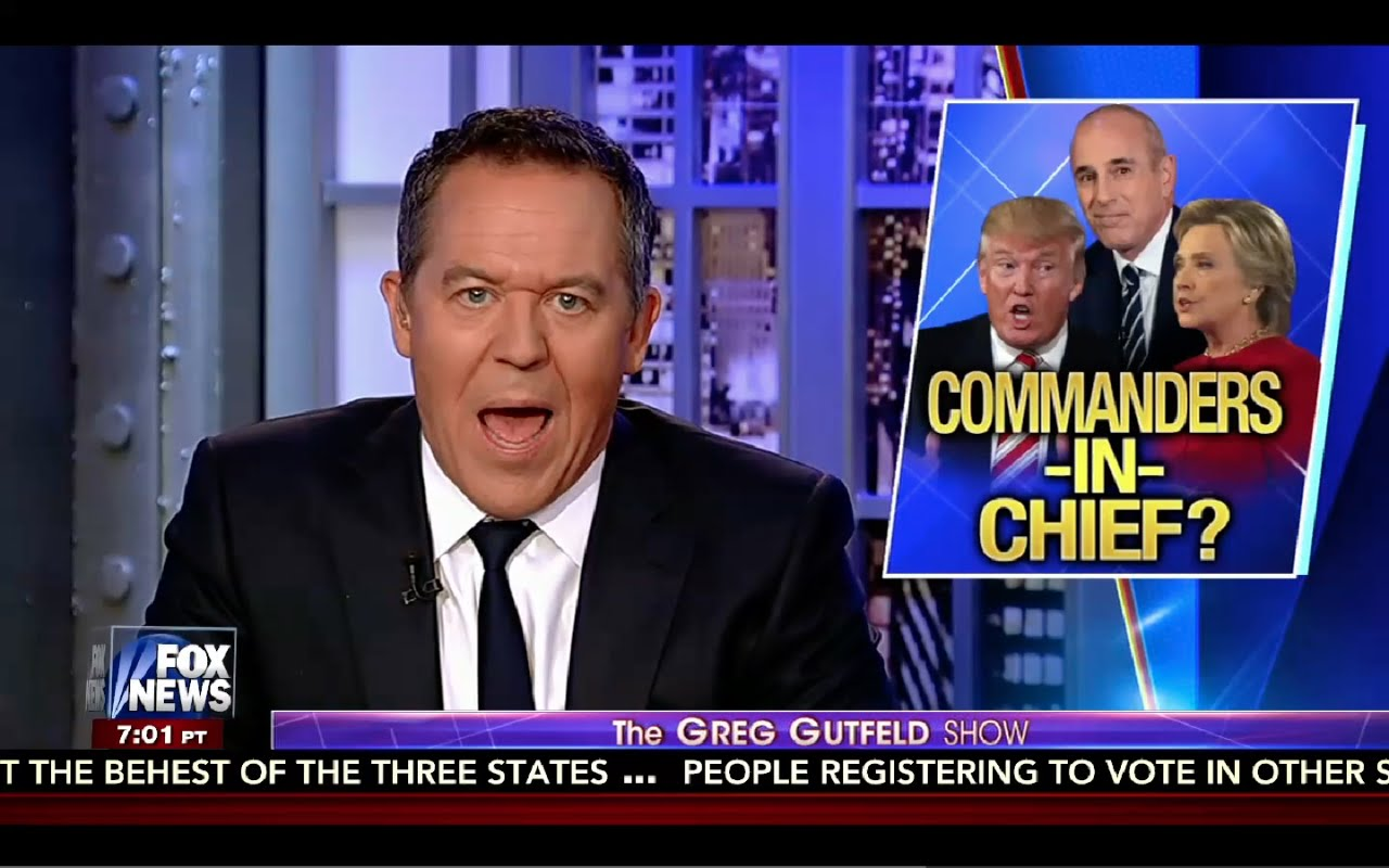 Greg Gutfeld Show 9/10/16 Full: Hillary Grilled About Classifed Emails, Trey Gowdy Pissed! 1