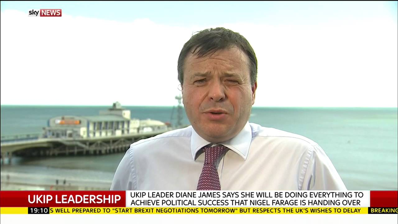 UKIP donor Arron Banks on the party's new leader 9