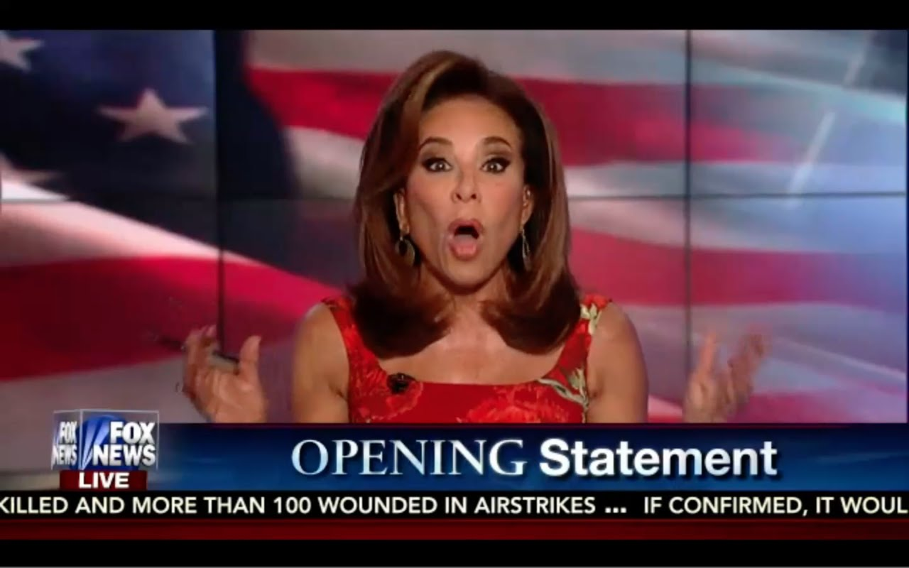 Hillary is a Pathetic, Lying, Hypocritical Racist! Judge Jeanine Opening statement 9/17/16 8