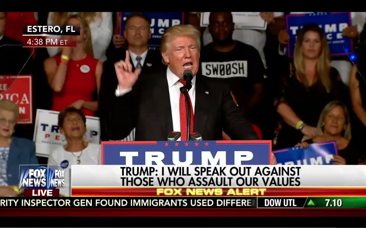 Donald Trump Speech 9/19/16: Destroys Hillary Clinton! 8