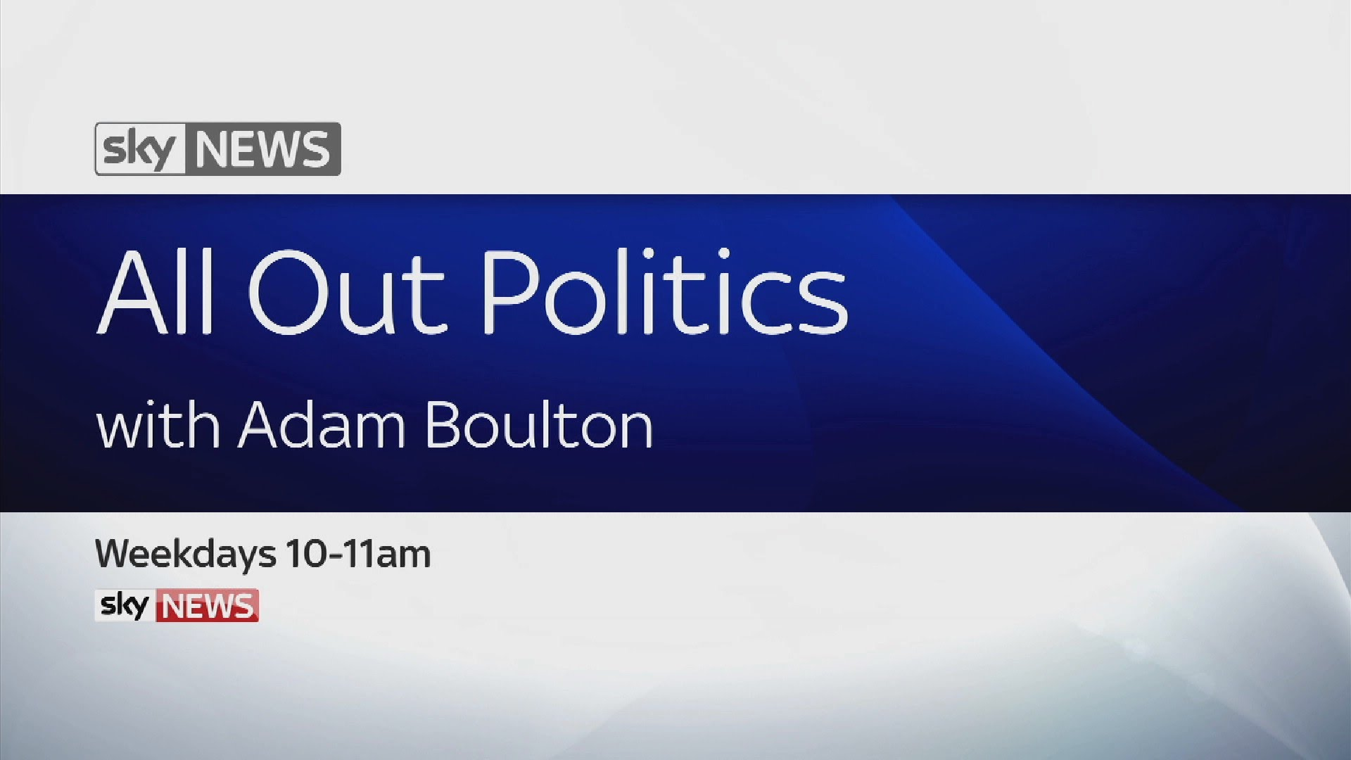 All Out Politics With Adam Boulton 5