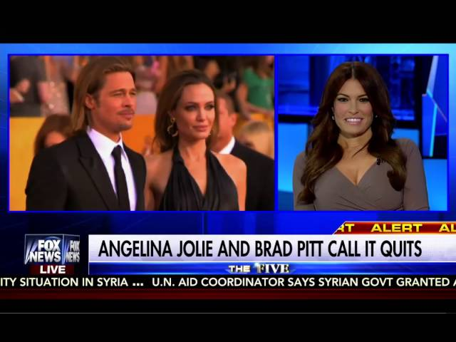 Brad Pitt & Angelina Jolie Divorce: The Five Fox News 9/20/16 4