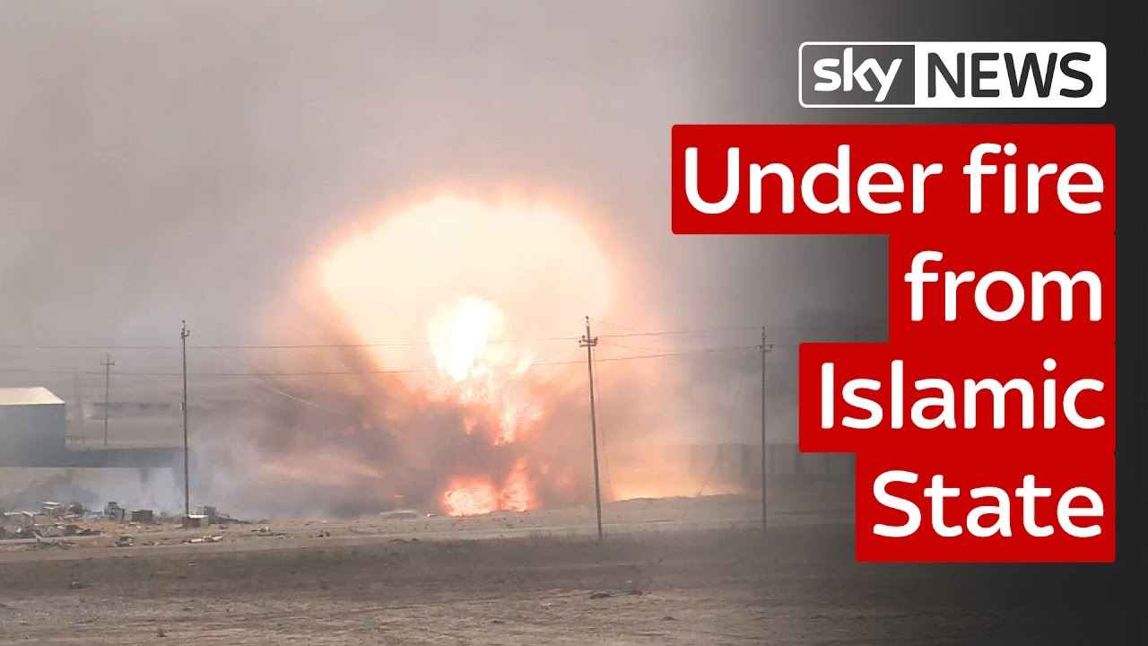 The battle for Mosul: Sky crew under fire from Islamic State 9