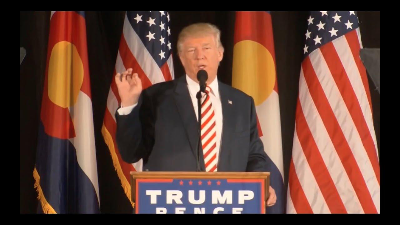 Donald Trump Rally Speech 10/18/16: Colorado Springs, CO 5