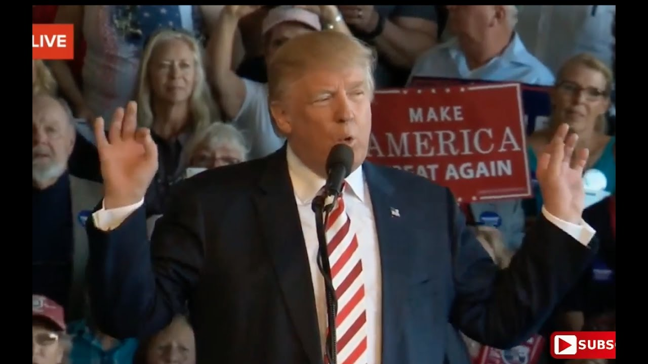 Full: Donald Trump Speech 10/18/16: Grand Junction, Colorado 8