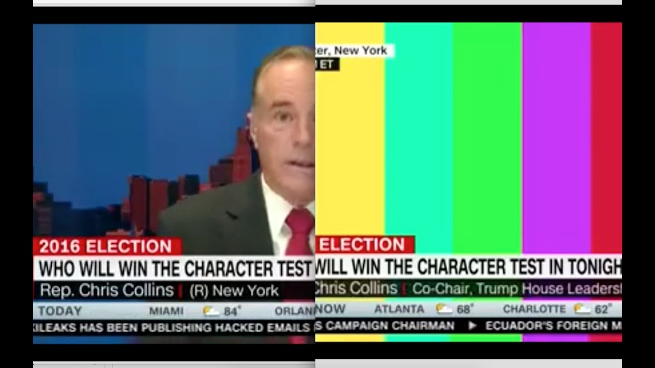 Congressman Collins Live Feed Cut After Mentioning Wikileaks! 10/19/16 6