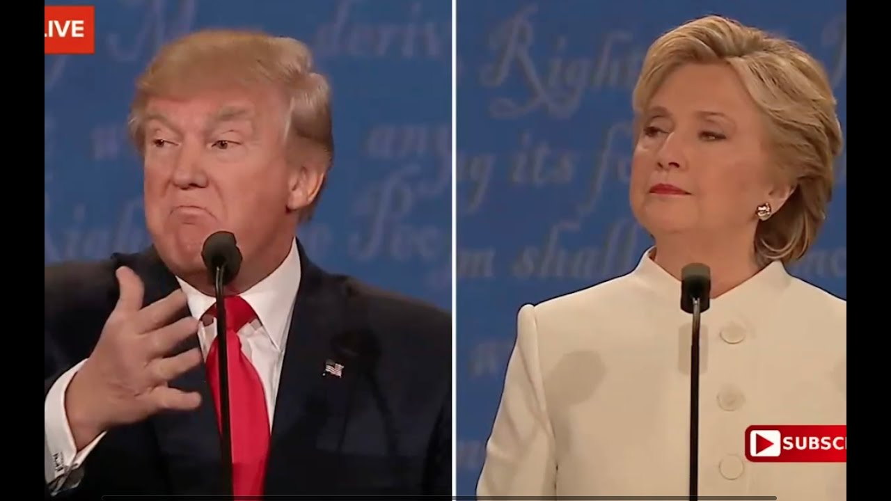 Full: Third Presidential Debate. Donald Trump vs Hillary Clinton. October 19, 2016 2