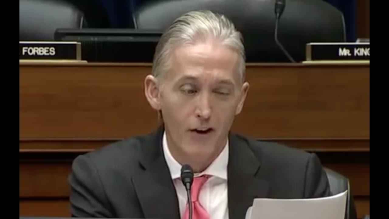 Trey Gowdy Goes Cross Eyed Over James Comey Stupidity! 1