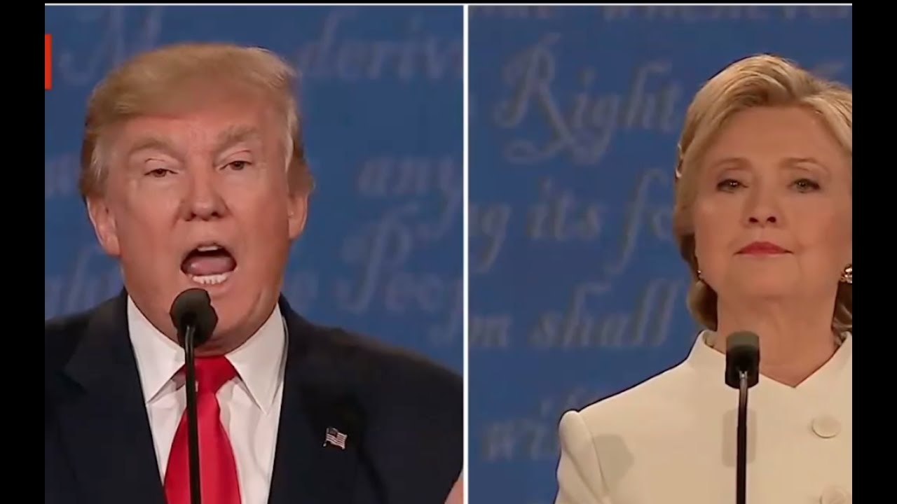 Donald Trump Explodes on Hillary Clinton after she Mentions His Taxes! 10/19/16 5