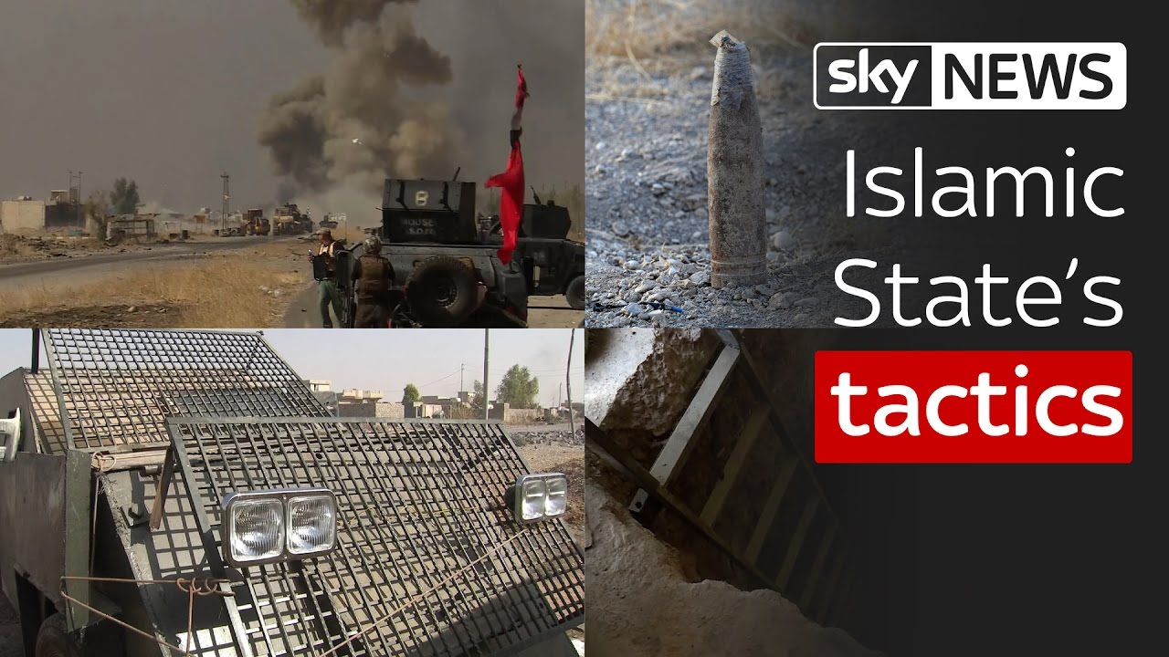 Islamic State's tactics in the battle for Mosul 5