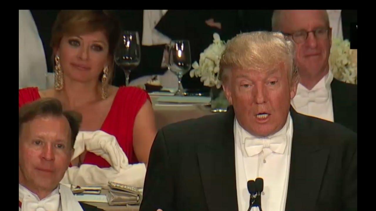 Full: Donald Trump Al Smith Dinner Speech 10/20/16 7