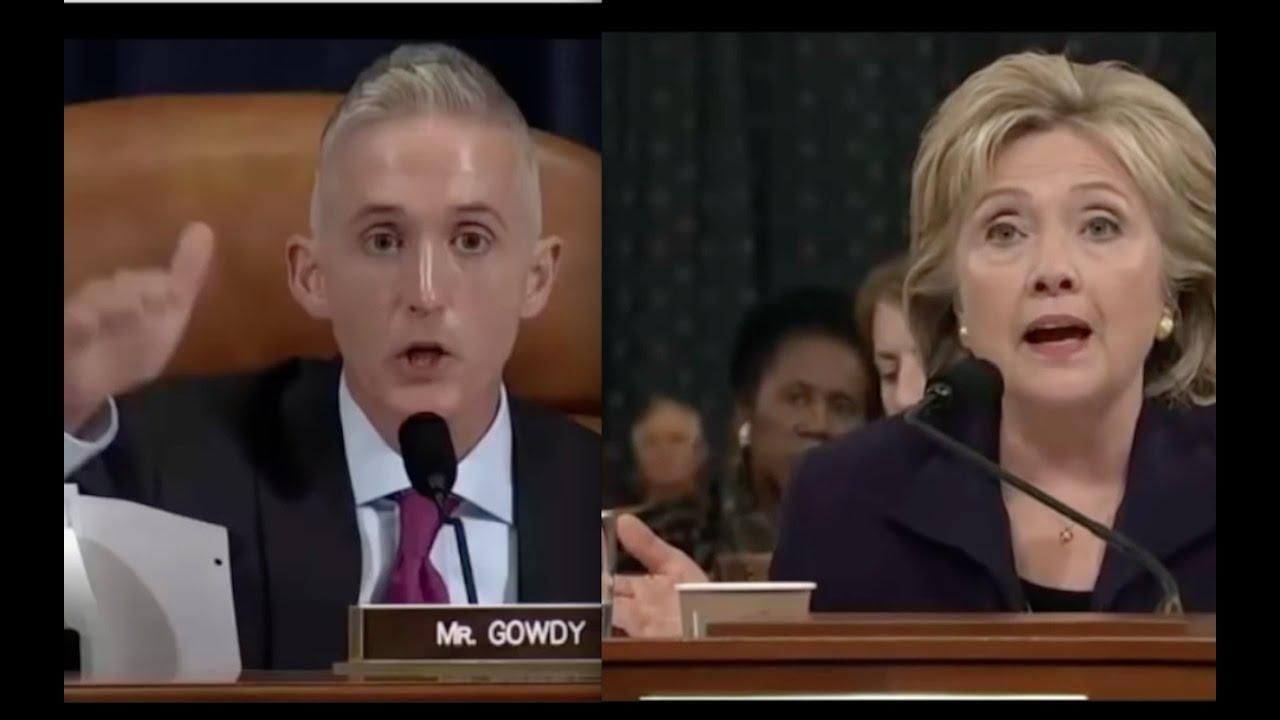 Hillary Clinton Bullshits Trey Gowdy for 15 Minutes! 9