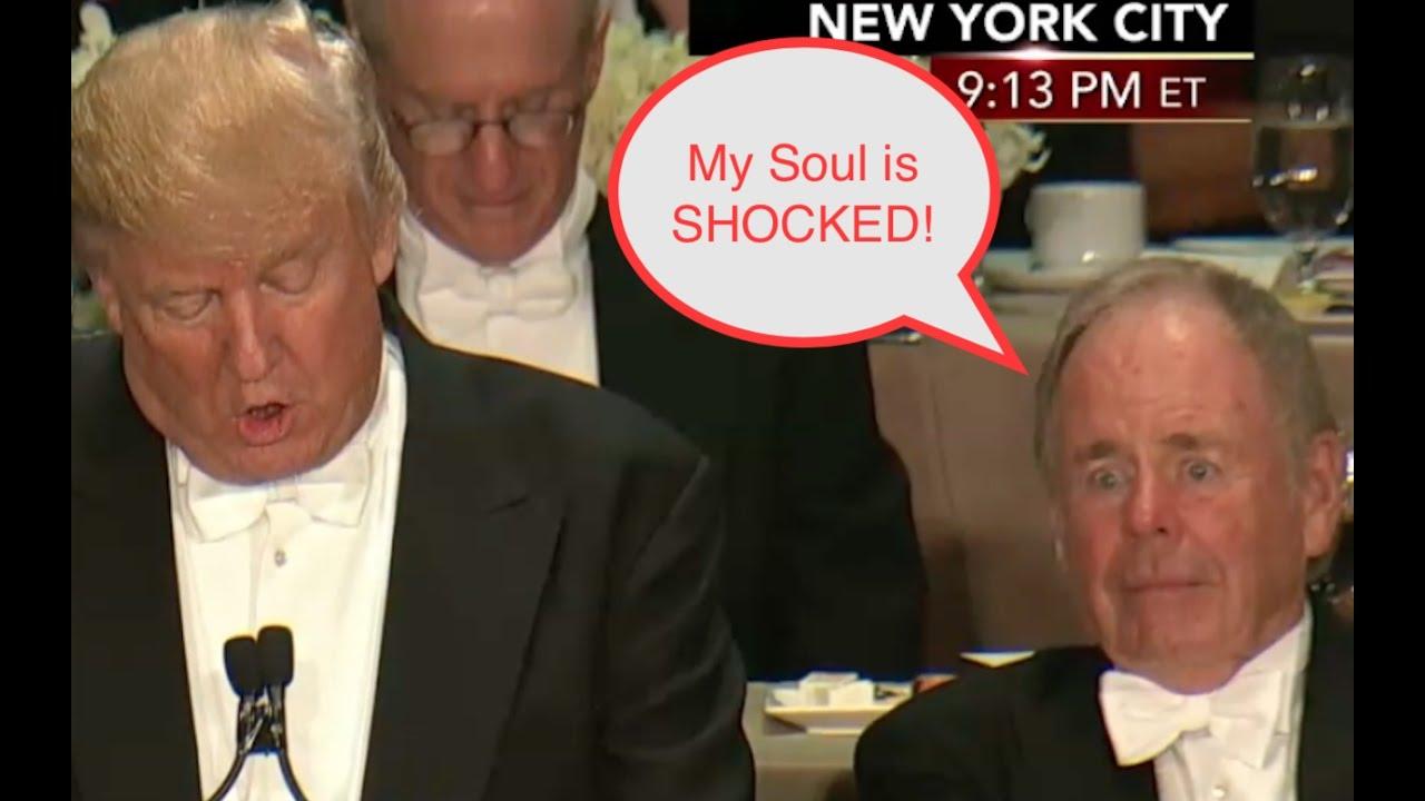 Donald Trump Shocks the SOUL of Man Next to Him! 8