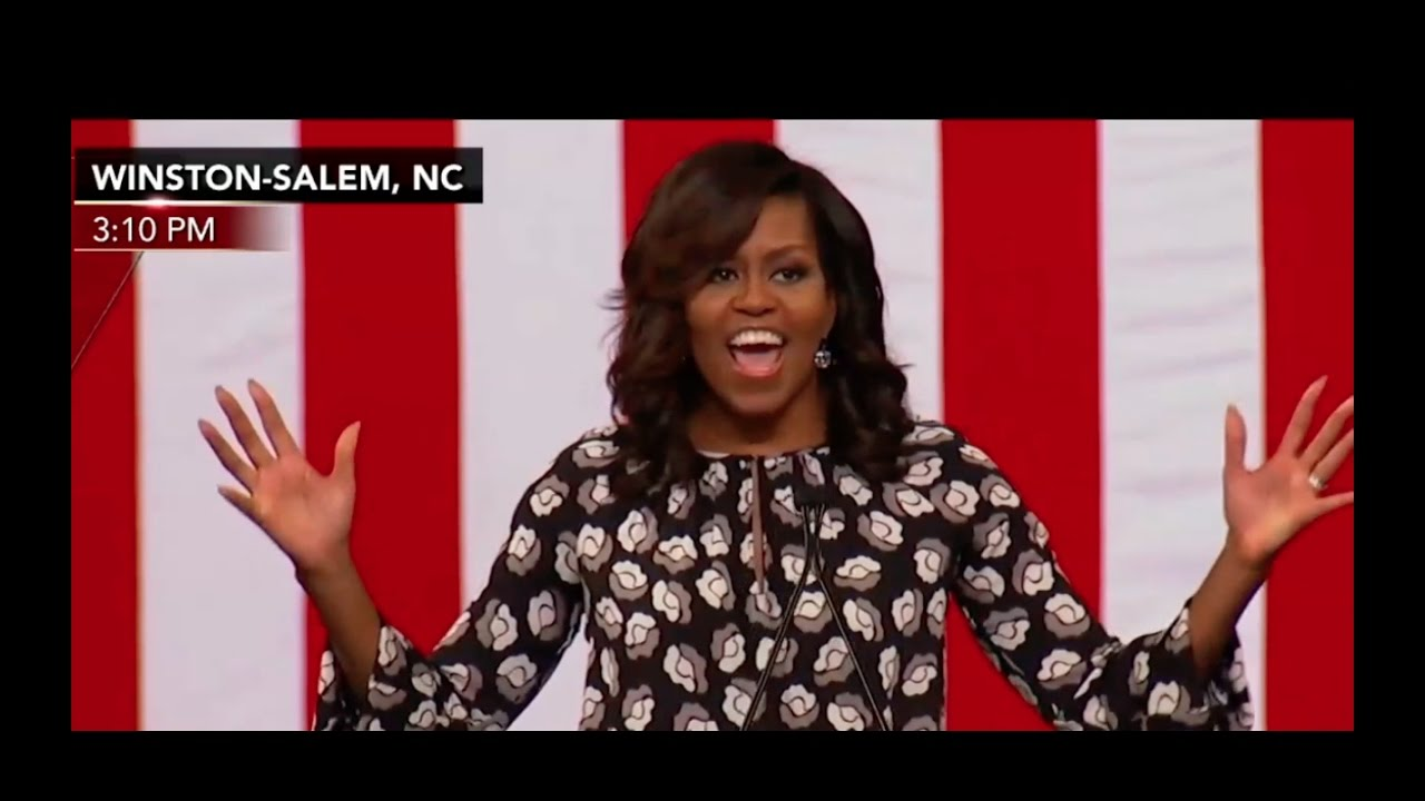 Full: Michelle Obama Speech 10/27/16 Winston-Salem, NC 6