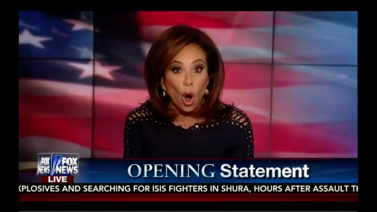 FBI REOPENS Hillary Case! Judge Jeanine Opening Statement 10/29/16 9