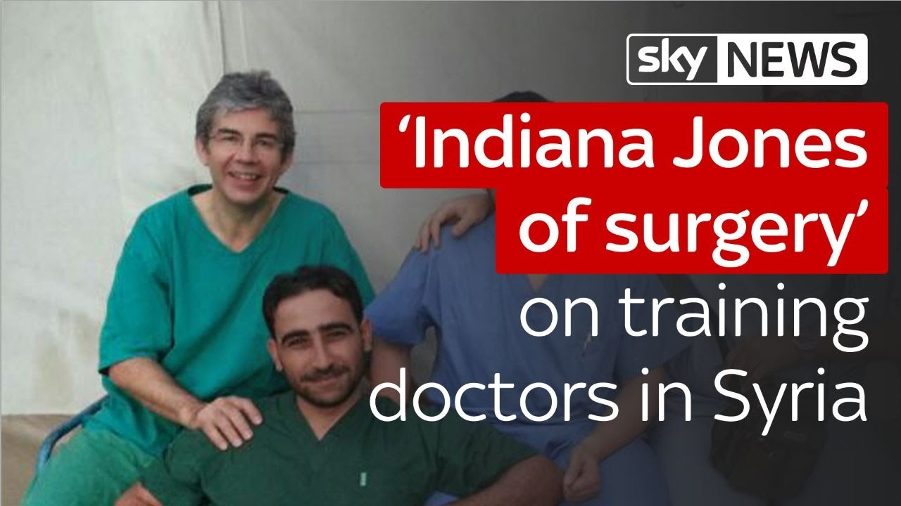 'Indiana Jones of surgery' on training doctors in Syria 12
