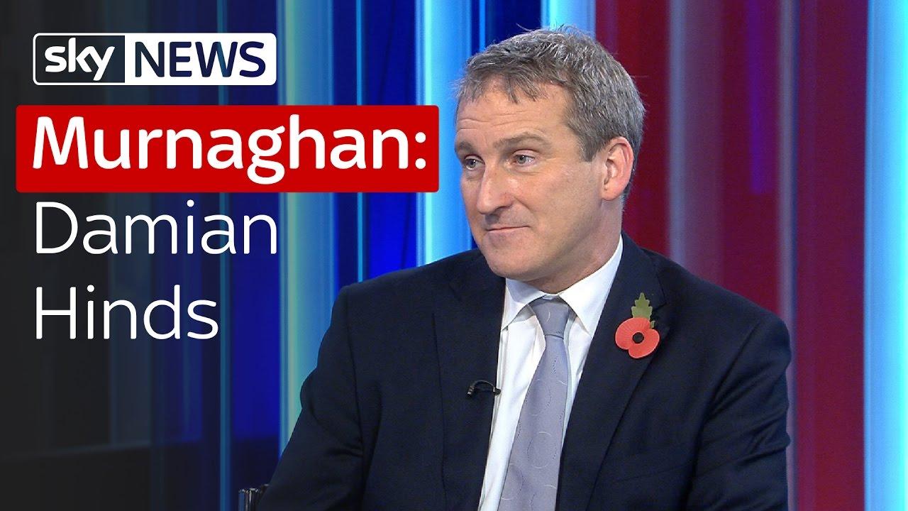 Murnaghan: Damian Hinds 1