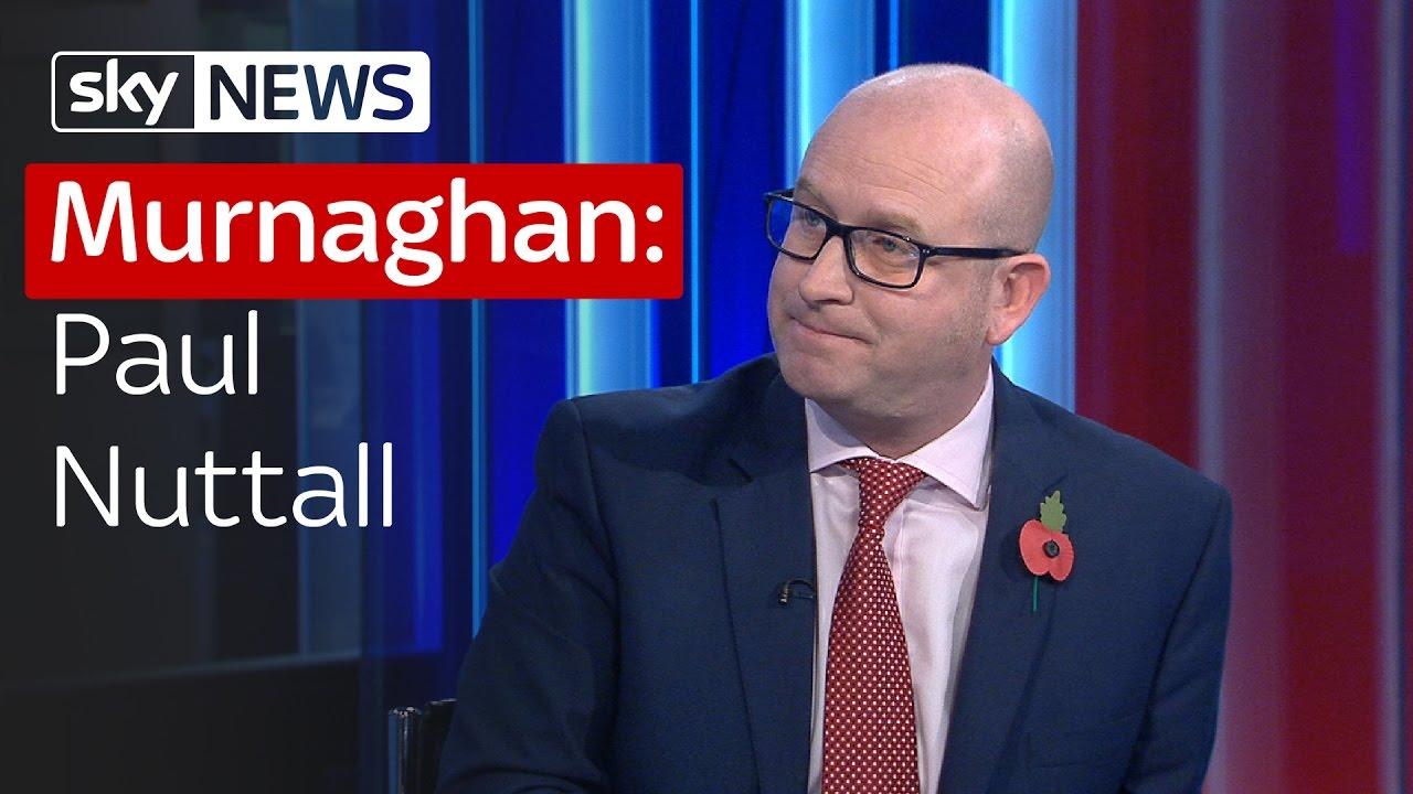 Murnaghan: Paul Nuttall 1