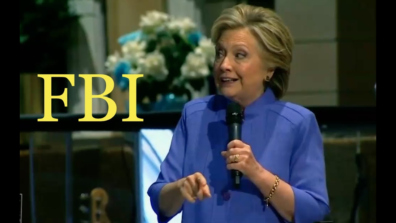 FBI Still Investigating Clinton Foundation Pay to Play! 10/30/16 7