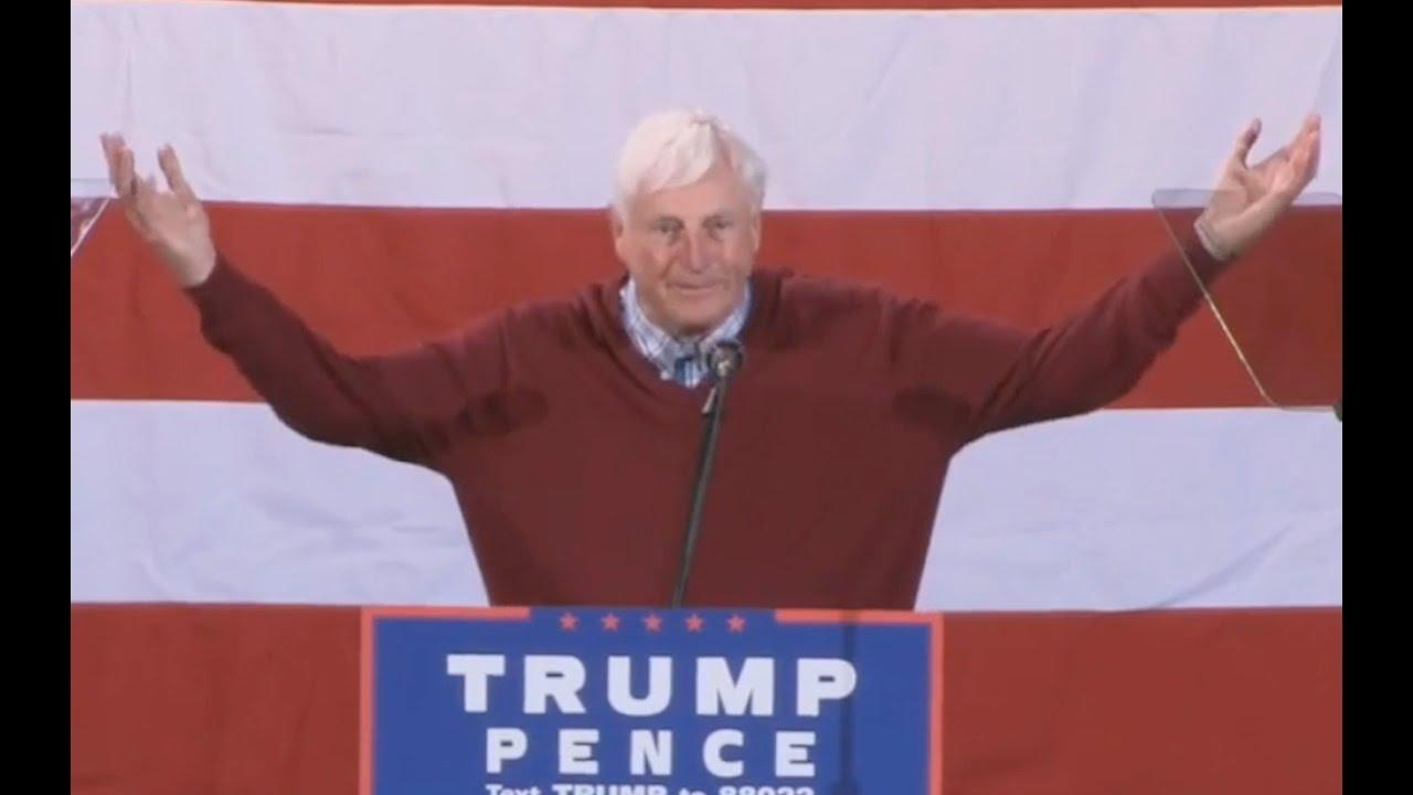 Bobby Knight Speech: We NEED Donald Trump! 10/31/16 6